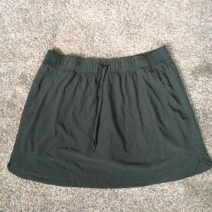 XXL Champion army green skort